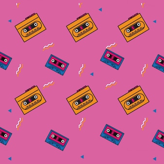 80s background style