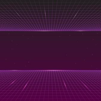 80s style, futuristic synth retro wave, future retro line background