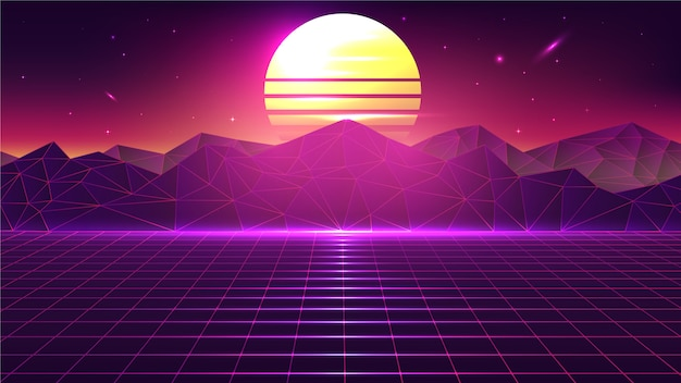 80s vectors photos and psd files free download - Space 80s wallpaper ...