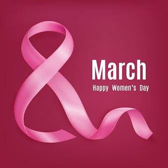 Открытка ко дню матери 8 марта