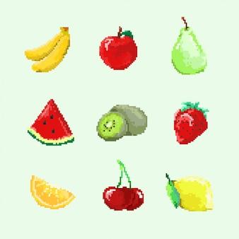 8 бит фруктов