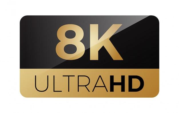 8k video icon