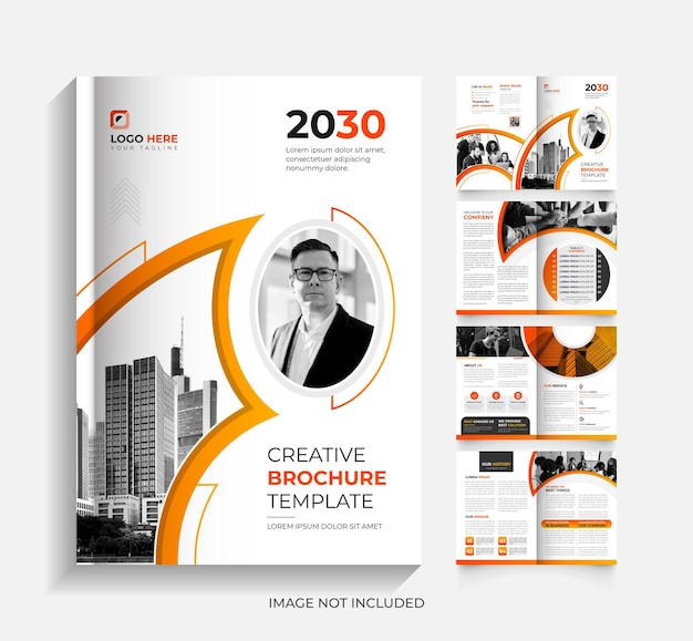 8page creative corporate business brochure