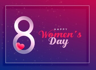 8th March, international women's day celebration background
