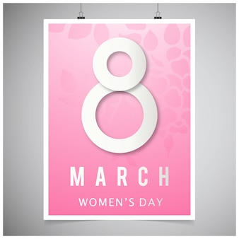 8th march women day poster