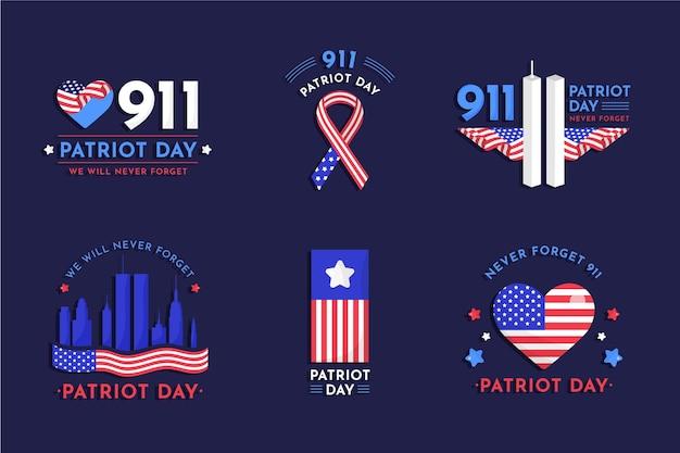9.11愛国者の日バッジコレクション