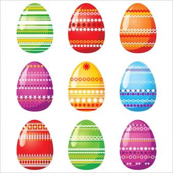 9 bright easter eggs