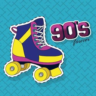 90年代のレトロなコンセプト