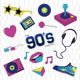 Ретро-дизайн 90-х годов