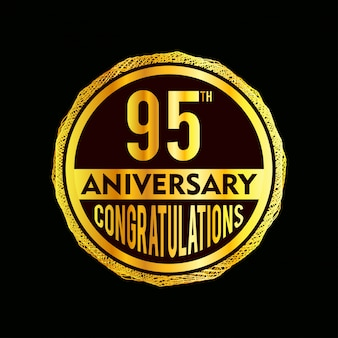 95 year anniversary badges