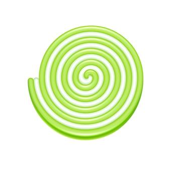 Значок спираль желе конфеты.