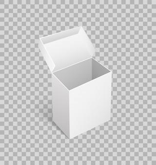 分離されたパッケージカートンボックスコンテナー