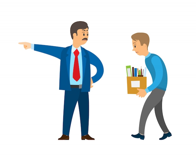上司の労働者を職務から解雇する
