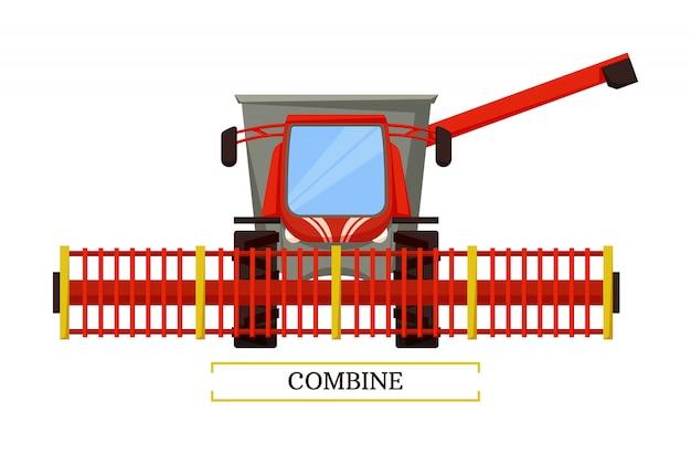 Объединить сельскохозяйственную машину
