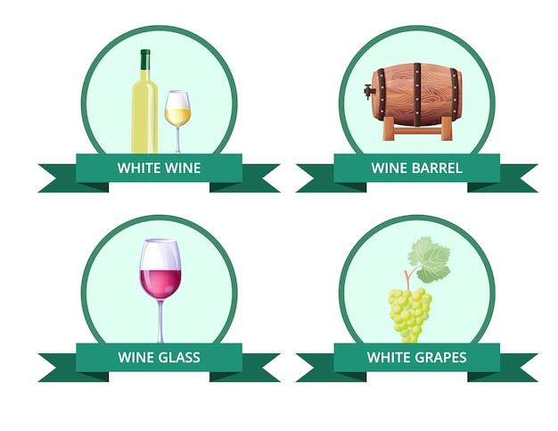 Белое вино и бочка