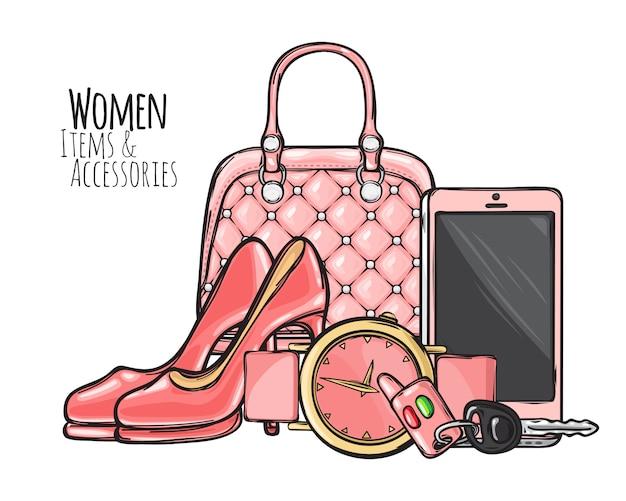 女性用アイテムとアクセサリー