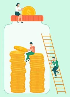 ドルとコインの投資家