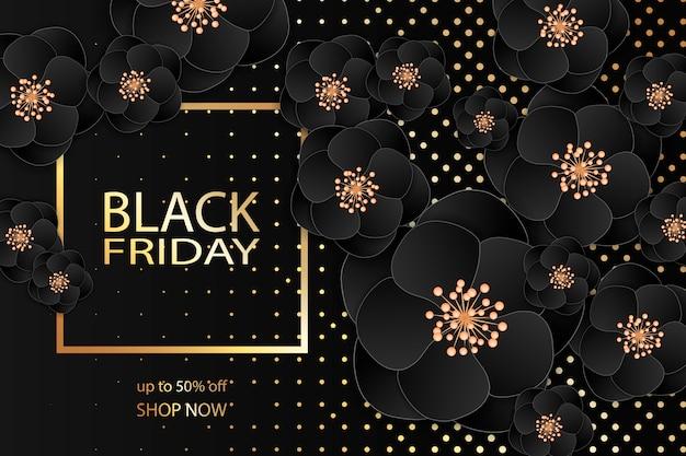 Черная пятница продажа баннер шаблон дизайна.