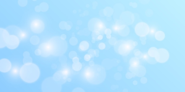 Абстрактный синий фон боке