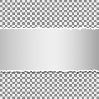 Рваная бумага с пространством для текста
