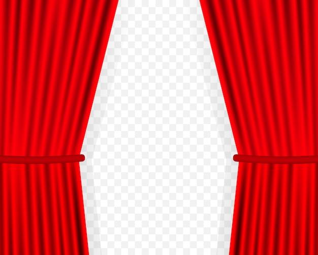 映画のエンターテイメントカーテンの背景。