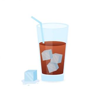 冷製のアイスコーヒー。