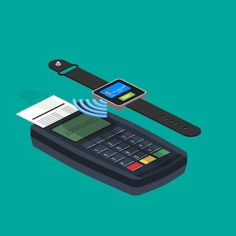 Презентация инфографика концепции мобильных платежей.
