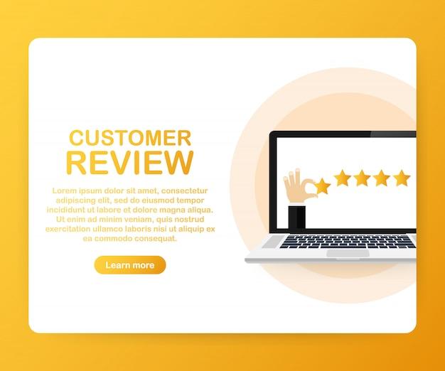 Отзывы клиентов, шаблон оценки юзабилити