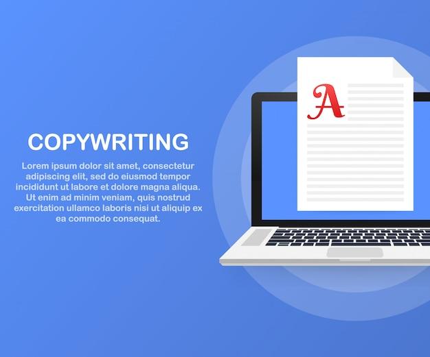 Копирайтинг, разработка контента, фриланс, шаблон блога