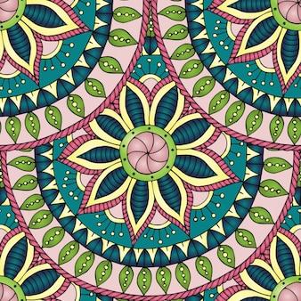 Цветочный дизайн паттен