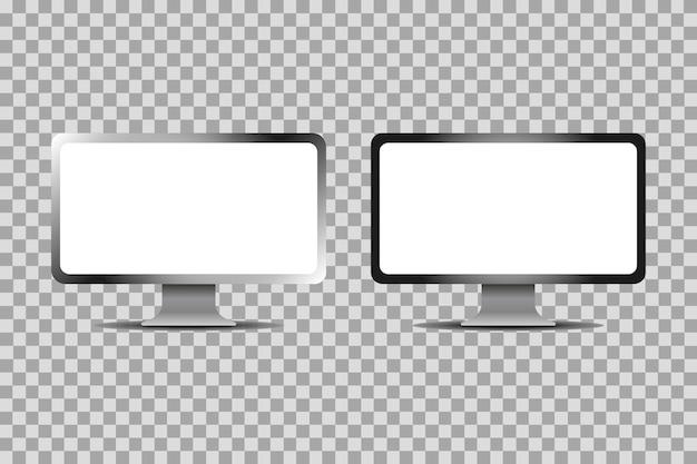 コンピュータ画面を設定する