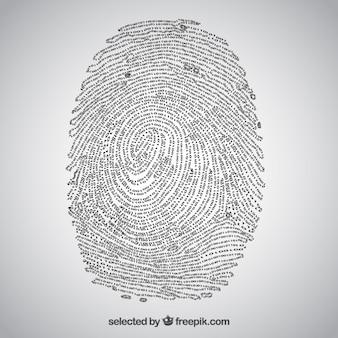 Кодовый отпечатков пальцев