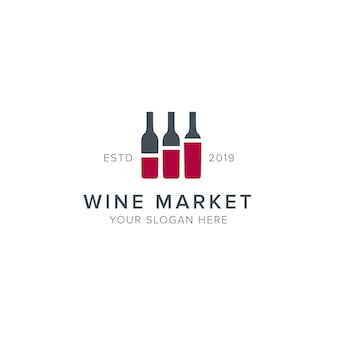 Логотип винного рынка