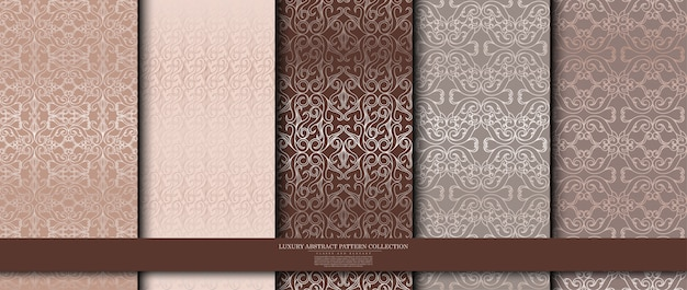 高級アラベスクパターンコレクション
