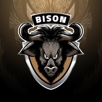 Логотип бизона
