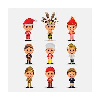 Этническая мода индонезия