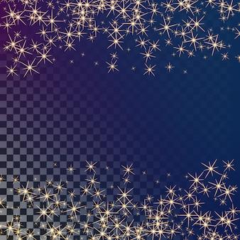 輝きのある背景と輝く光の効果星バースト