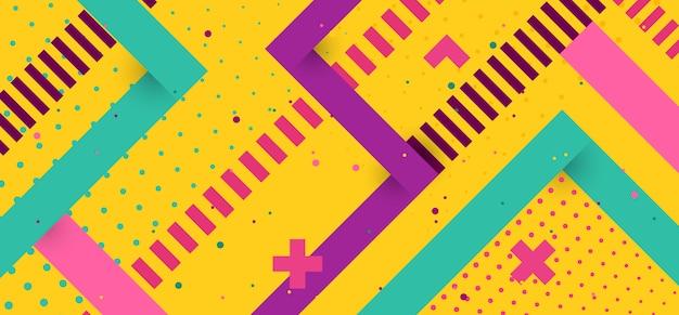 幾何学的なビンテージ背景