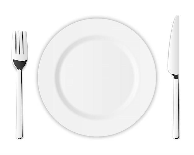 Набор столовых приборов из серебра, кухонная вилка, ложка, нож.