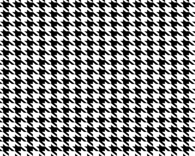 生地千鳥格子シームレスパターン。