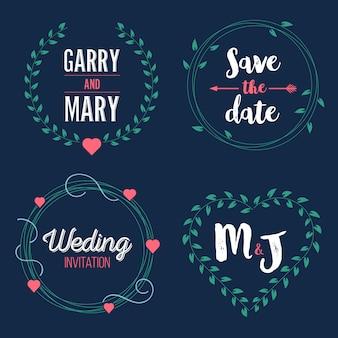 結婚式の日を保存する