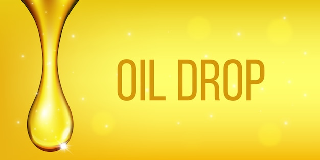 Оливковое топливо жидкость, капля масла, сверкающий коллаген.
