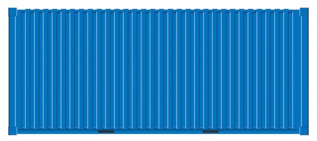 海上貨物輸送、輸送コンテナ。