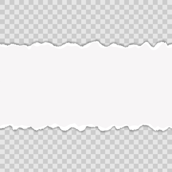 Разноцветные рваные края бумаги. арт дизайн.
