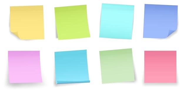 メモ用紙のステッカーピンを投稿します。粘着粘着テープ。