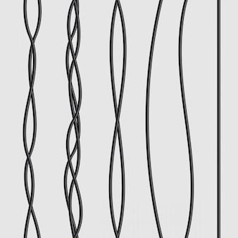 Электрические провода гибкие, подключение энергетических кабелей