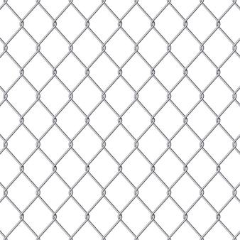 Предпосылка металлической сетки ячеистой сети загородки звена цепи.