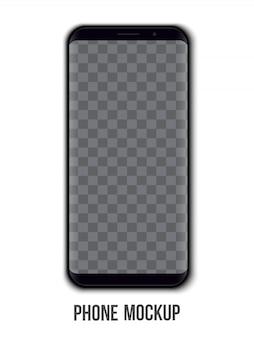 Шаблон мобильного телефона.