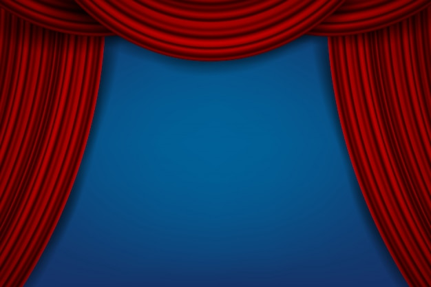 Роскошные алые шелковые бархатные шторы, тканевые шторы