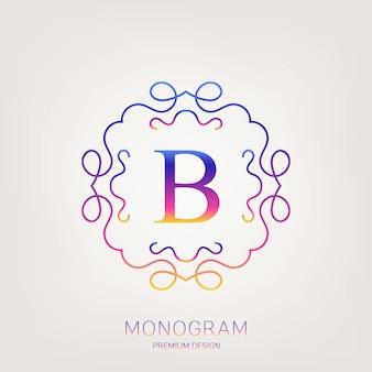 ビンテージモノグラムロゴ。